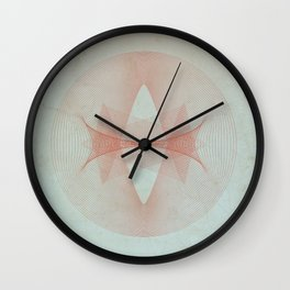 Abstract Scene - Sun Wall Clock