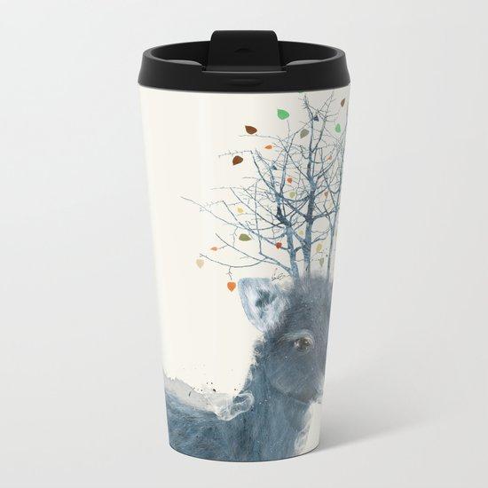 little blossom Metal Travel Mug