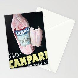 Vintage Italian Campari Bitters Advertisement Stationery Cards