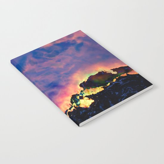 The World On Fire Notebook