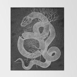 Snakes & Stones Throw Blanket