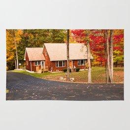 cottage in vermont Rug