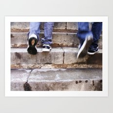Upward Motion Art Print