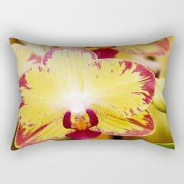 Close up Orchid #8 Rectangular Pillow