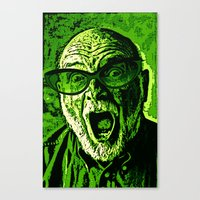 scream Canvas Prints featuring SCREAM! by Silvio Ledbetter