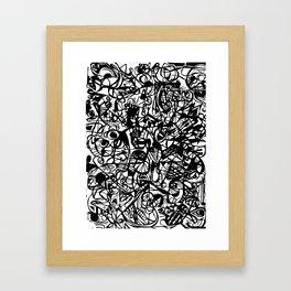 Scan #5 Framed Art Print