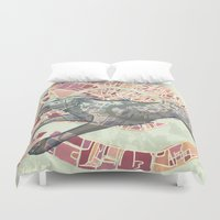 venice Duvet Covers featuring VENICE by C. Reeder