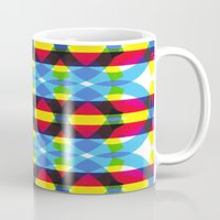 dna Mugs featuring DNA by dzynwrld