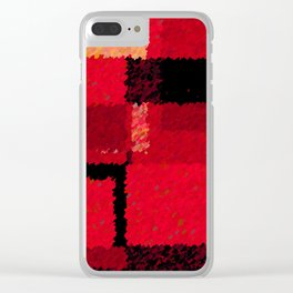 Cherries Jubilee Clear iPhone Case