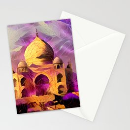 Violet Temple Stationery Cards