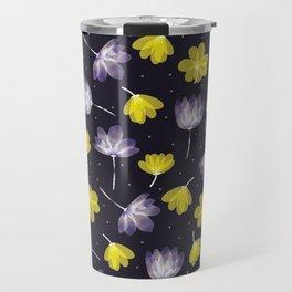 pressed flower Travel Mug