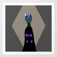 catwizard Art Print