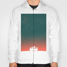 Quiet Night - starry sky Hoody