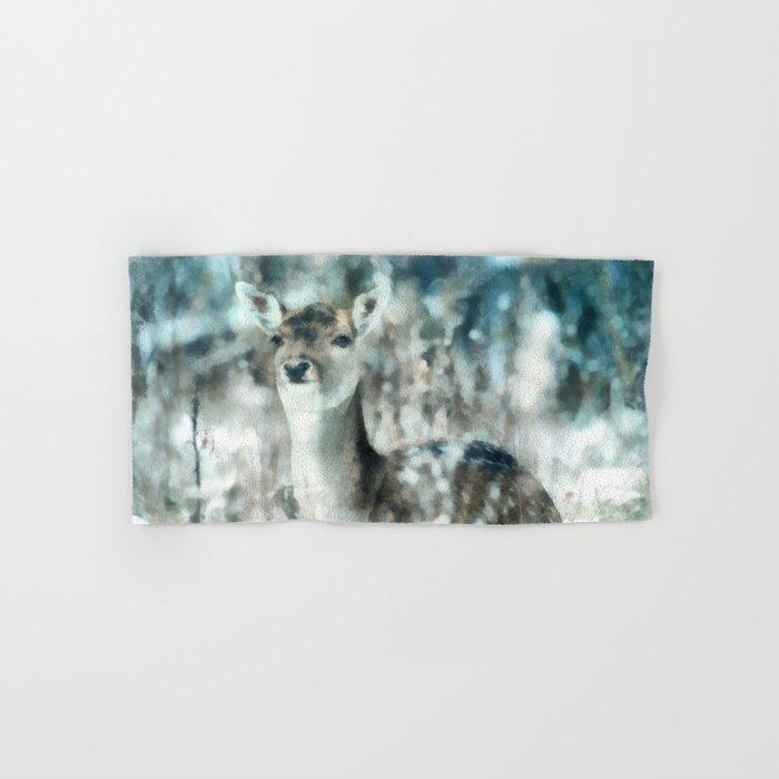 Roe deer Hand & Bath Towel