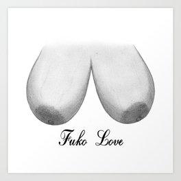 Fuko Love Art Print