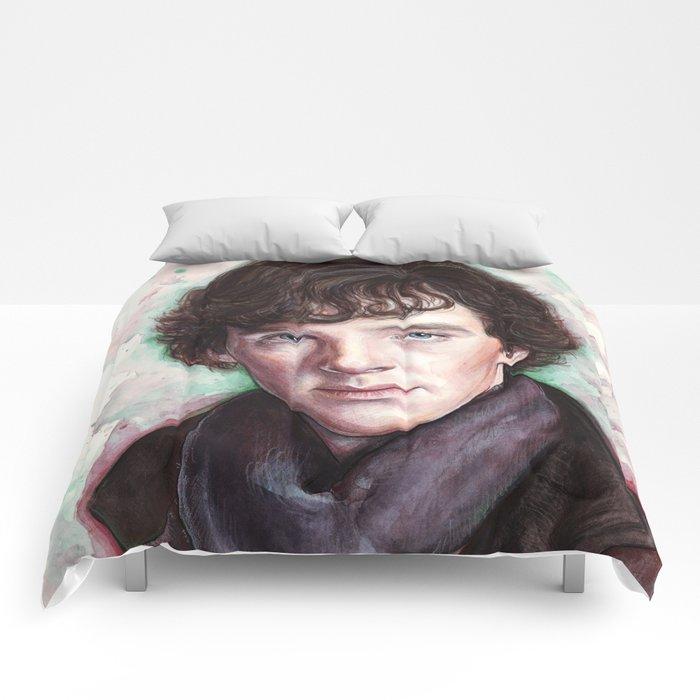 Sherlock Holmes Sherlocked Benedict Cumberbatch Comforters
