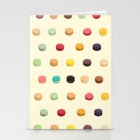 macaron Stationery Cards featuring Macaron Fest by Electric Avenue