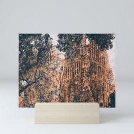 Sagrada Familia Mini Art Print
