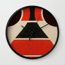 Lucha Libre Mask 2 Wall Clock