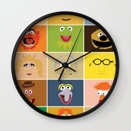 We Are the Muppets Wall Clock