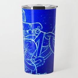 Astronaut Bicycle 1 Travel Mug