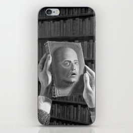 Don't Read Me iPhone Skin