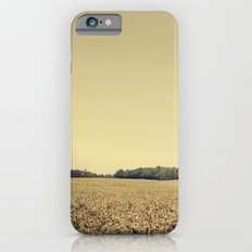 Lonely Field in Brown iPhone 6s Slim Case