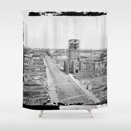 Charleston, S.C. 1865 Shower Curtain