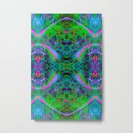 Techno Electric IV (Ultraviolet) Metal Print