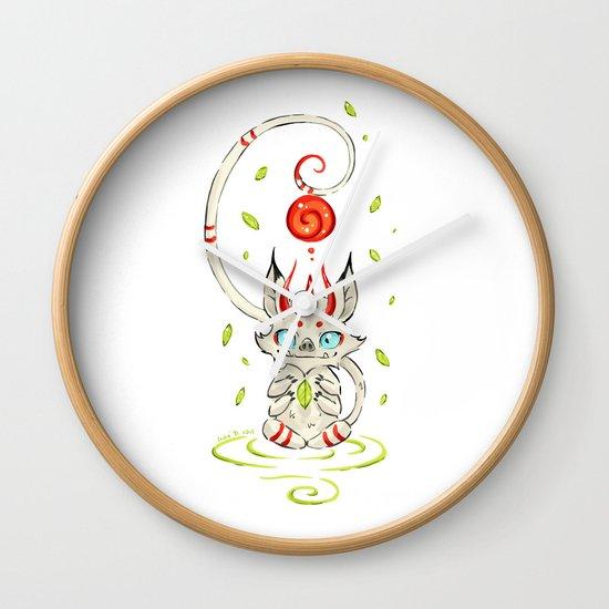 Little Monster 2 Wall Clock