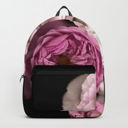 Purple, Pink, and White Roses Backpack