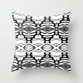 BWE Pattern Throw Pillow