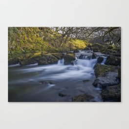 Nant Ffrancon Pass River Canvas Print