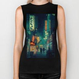 Tokyo Nights / Memories of Green / Blade Runner Vibes / Cyberpunk / Liam Wong Biker Tank