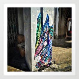 The Pillar Art Print