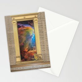Godspeed Stephen Hawking Stationery Cards