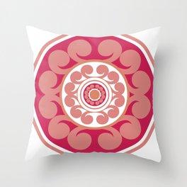 Roundie 2 Throw Pillow