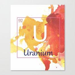 Elementals: Uranium Canvas Print