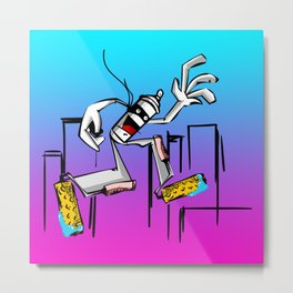 Whole City King Metal Print