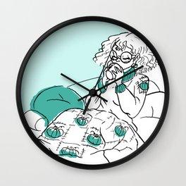 Fall Feeling Wall Clock