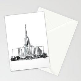 Jordan River LDS Temple Stationery Cards