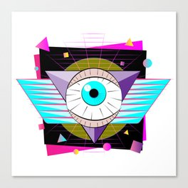The All-Seer Canvas Print
