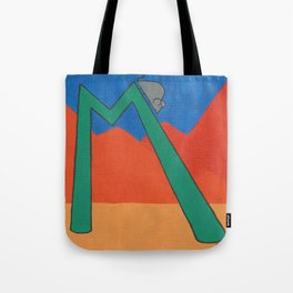 M is for Mouse Tote Bag