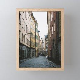 Gamla Stan Framed Mini Art Print