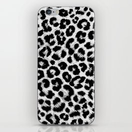 ReAL LeOparD B&W iPhone Skin