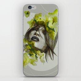 Eva by carographic, Carolyn Mielke iPhone Skin