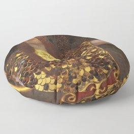 Gustav Klimt -  Pallas Athena Floor Pillow