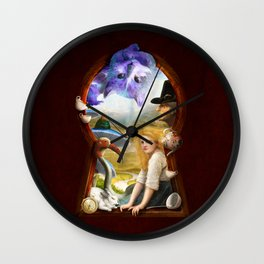 A Mad Adventure Wall Clock