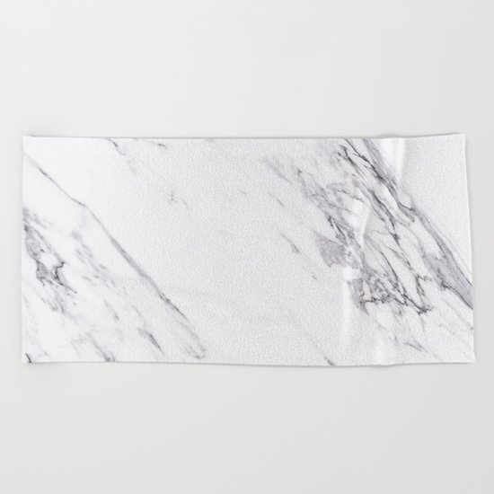 Marble - Classic Real Marble Beach Towel