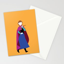 Anna from Frozen - Princesses series Stationery Cards
